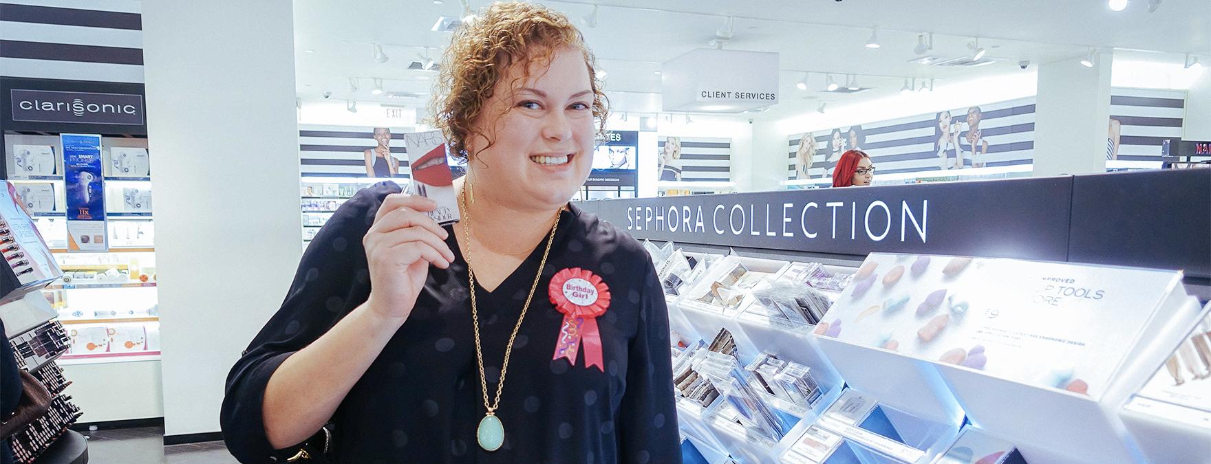 Jane at Sephora