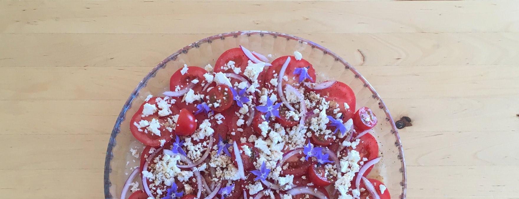 feta tomato salad