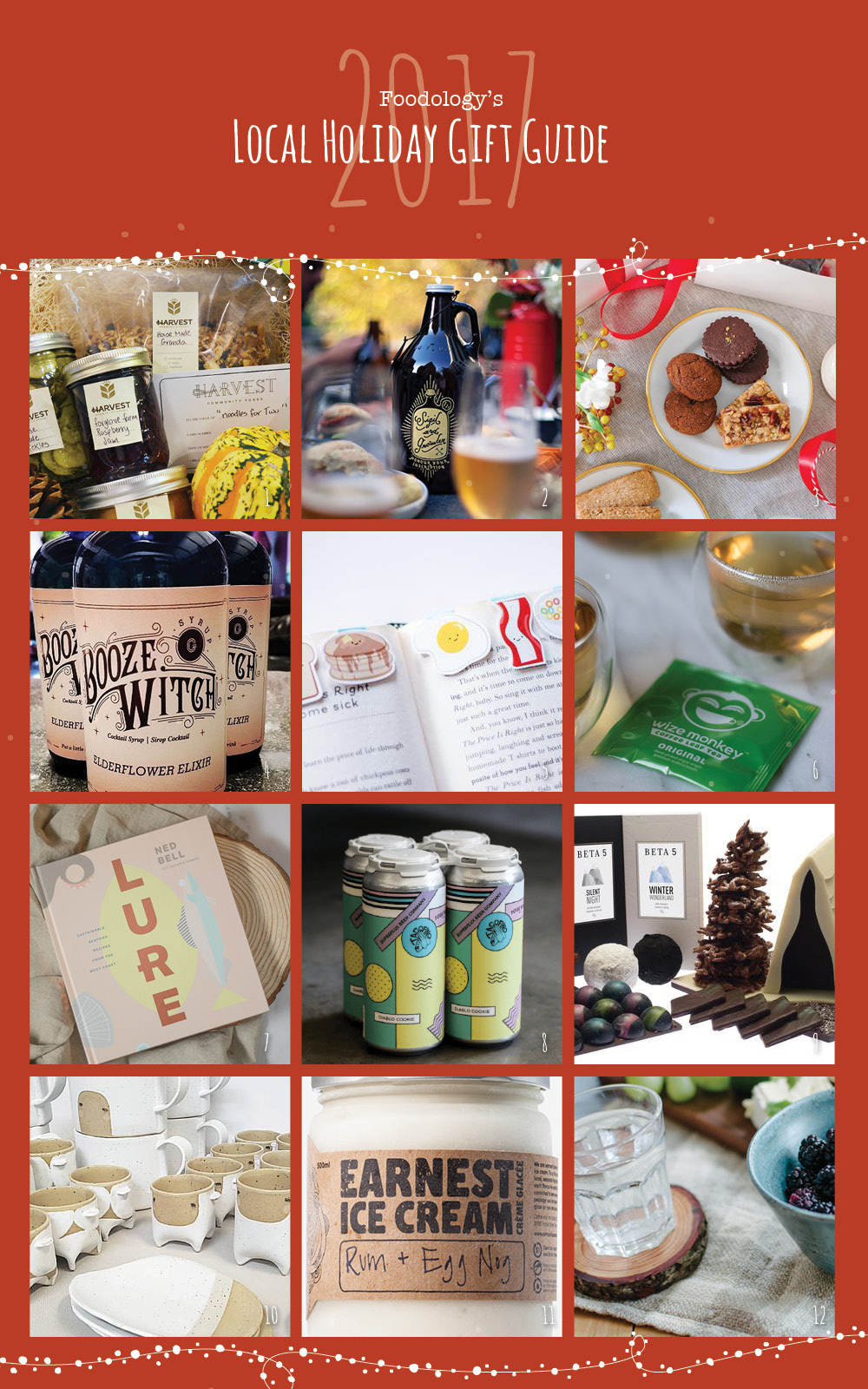 Local holiday gift ideas for the foodie in your life